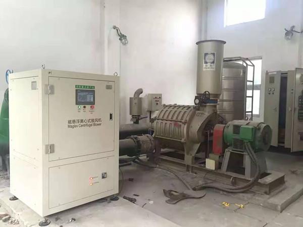 市政污水磁悬浮鼓风机案例-江阴市周南污水处理有限公司